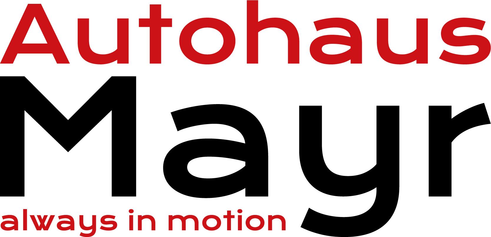 Logo Autohaus Mayr GmbH & Co KG